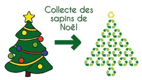 Valorisation des déchets verts : collecte des sapins de Noël