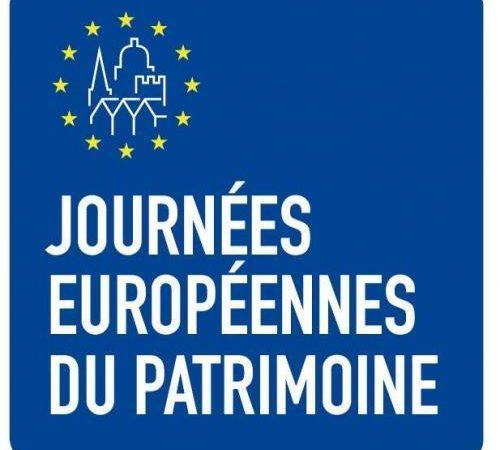 Journées Européennes du Patrimoine 18 & 19 septembre