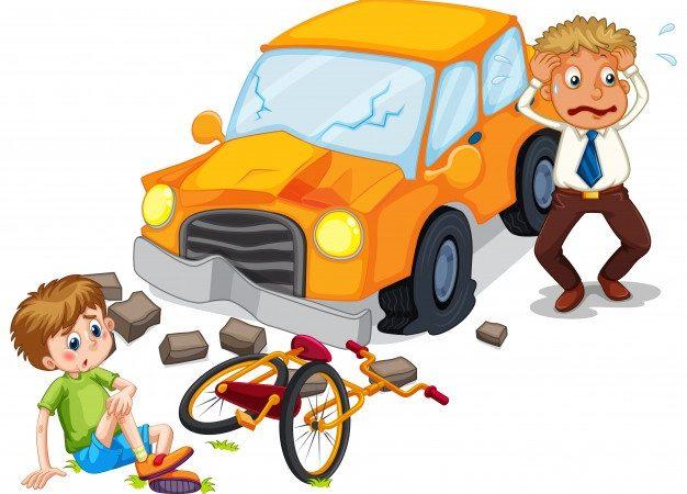 2 accidents de vélo en 5 mois