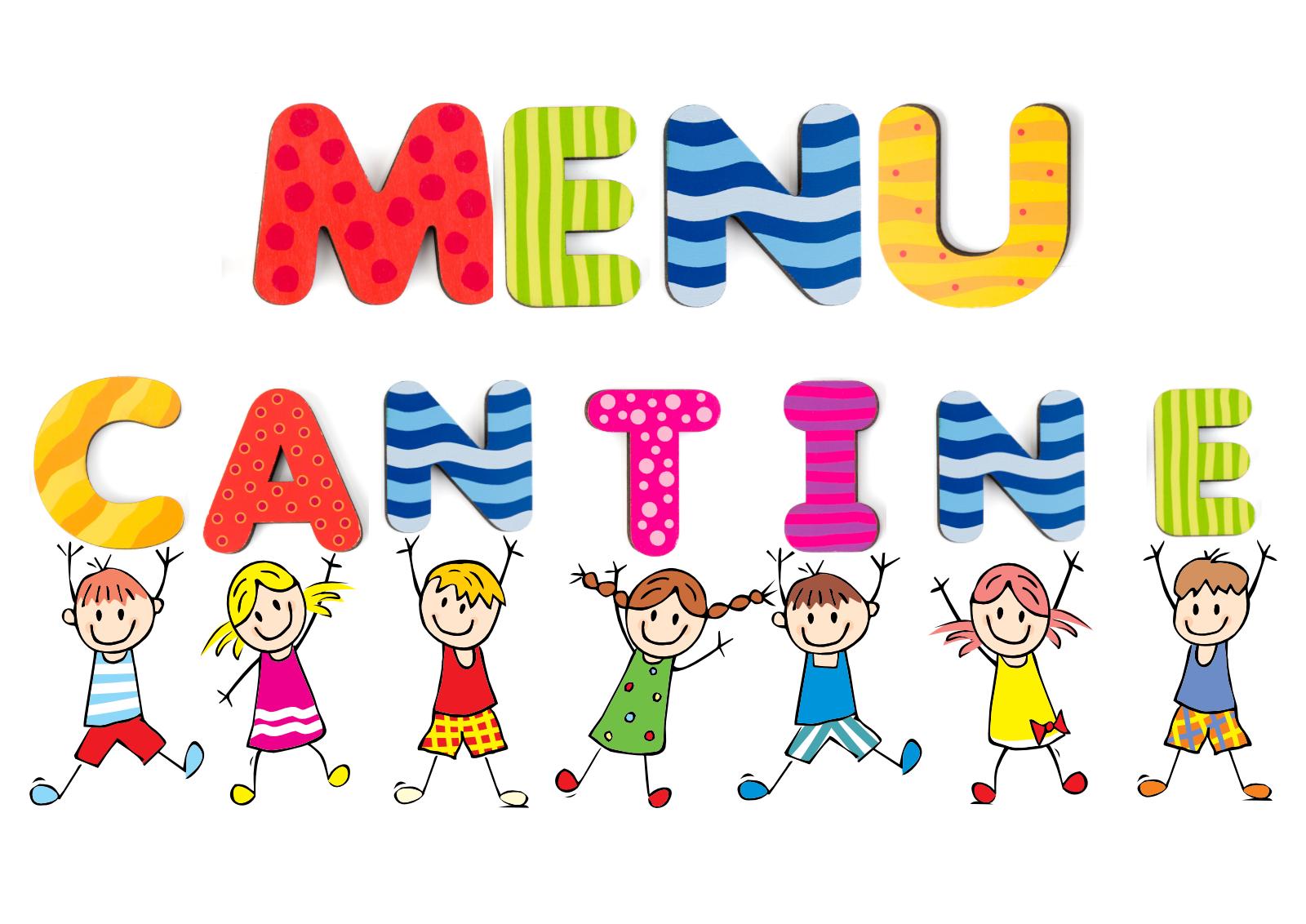 Menu du restaurant scolaire 2021 / 2022